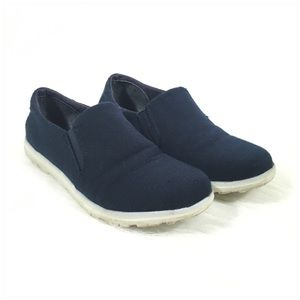 3/$25 SALE MiaGirl Navy Blue Slip On Sneakers 8M